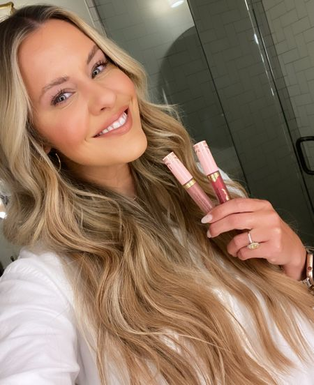 The Too Faced Lip Injection liquid plumping lipstick gives you the look of voluminous and plumps lips with just one product! I'm wearing the nude from the nude/red duo that's only $34 right now…which is a DEAL bc one of these tubes alone is $26!    #LTKbeauty #LTKunder50 #LTKsalealert