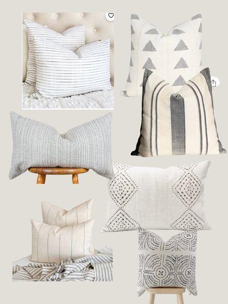 Gorgeous neutral pillows    #LTKhome #LTKunder100