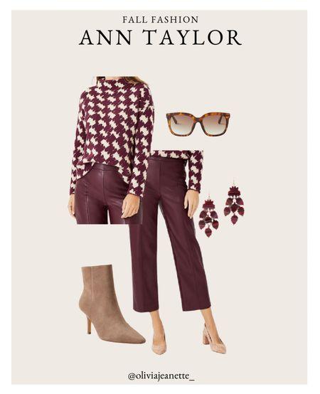 Workwear outfit from Ann Taylor 🤎  #LTKSeasonal #LTKfit #LTKworkwear
