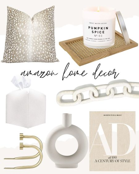 Neutral home decor favorites from amazon!   coffee table books, decorative accents  #LTKhome #LTKunder100 #LTKunder50