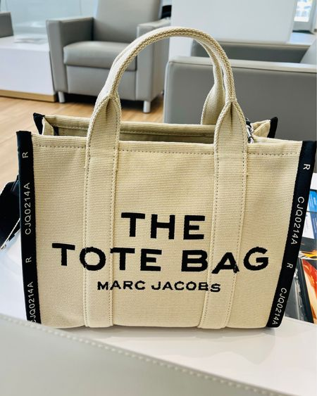 Today is my first time actually carrying this bag and it is love for me! It fits a ton, it's comfortable, and it still looks cute! Btw, this is the Small, but it also comes in a Mini and Large.   #marcjacobstote #marcjacobsthetotebag #marcjacobstravelertote #bagoftheday #besttote #LTKtravel #LTKstyletip #LTKworkwear    Shop your screenshot of this pic with the LIKEtoKNOW.it shopping app   http://liketk.it/3jjbf #liketkit @liketoknow.it