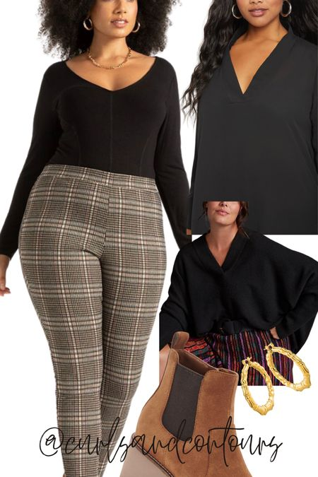 Love these plus size printed leggings! Featured in my latest Reel on IG!   #LTKstyletip #LTKSeasonal #LTKcurves