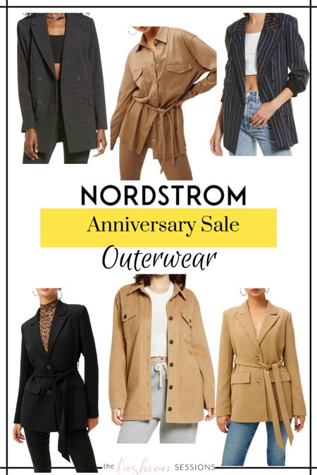 Nordstrom Anniversary Sale Picks!  Outerwear | coats | blazers | denim jacket | wool coat | trench | faux leather | coat shacket | puffer coat | 2021   Shop your screenshot of this pic with the LIKEtoKNOW.it shopping app http://liketk.it/3jsyT #liketkit @liketoknow.it #LTKunder50 #LTKunder100 #LTKsalealert