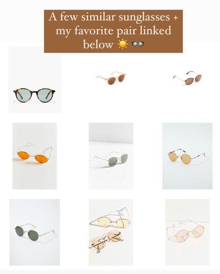 Favorite round sunglasses http://liketk.it/3fySv #liketkit @liketoknow.it