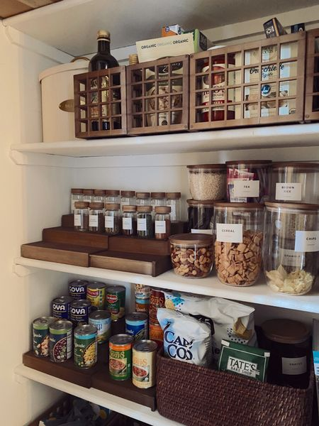 Pantry and kitchen organization - loving the newest Konmari Collection to organize. #thecontainerstore #TheContainerStorePartner   #LTKunder100 #LTKhome #LTKunder50