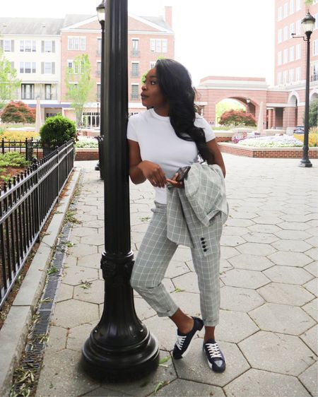 The perfect quality inexpensive suit you can dress up and down http://liketk.it/2OcRT #liketkit @liketoknow.it #LTKworkwear #LTKunder50