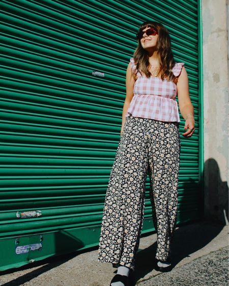 Trousers that barely touch.. a heatwaves best friend🔥  #LTKstyletip #LTKunder50 #LTKeurope