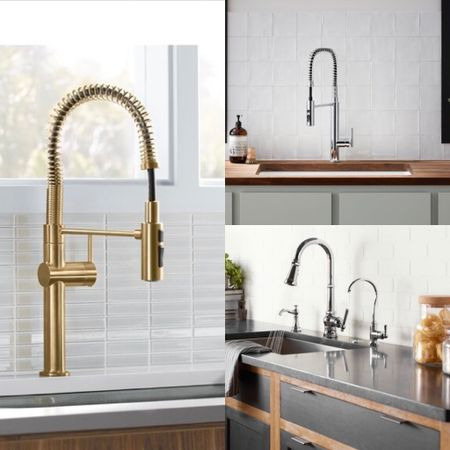 Memorial Day Clearance is on. Shop our handpicked semi-pro kitchen faucets featured with powerful docking function, touchless smart technologies and sleek modern design.     #LTKsalealert #LTKhome