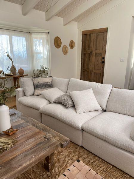 Sofa, three section sofa, living room decor   #LTKsalealert #LTKfamily #LTKhome