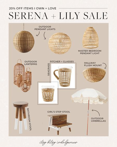 Serena and lily home sale- 20% off sitewide. Sharing the items we have around our house that are included //   #LTKsalealert #LTKhome