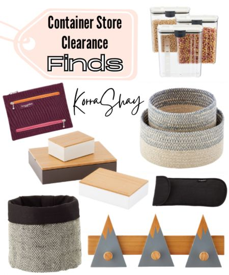Container store clearance finds!   Want to save some money on your new organization items? Then check out these container store clearance finds!   ✨✨✨✨✨  Clearance, clearance finds, container store, container store finds, organized, organization, organization tools, sales, home sales   #LTKhome #LTKSpringSale #LTKunder50