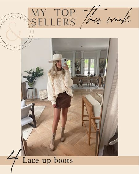 Top sellers - lace up boots