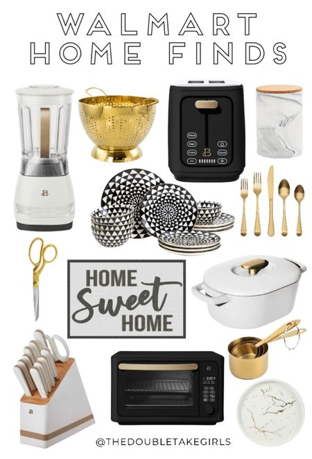 So many cute new arrivals now at @walmart! From blender and silverware to plates and cups - the new home items at Walmart are so good! We are especially loving the Beautiful line of items shown here!   #LTKhome #LTKstyletip #LTKunder100