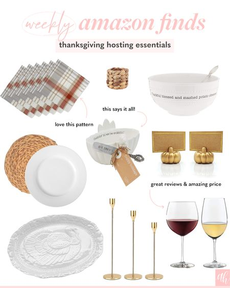 Thanksgiving essentials, hosting items, tablescape must haves, serving dishes for turkey day   #LTKhome #LTKHoliday #LTKSeasonal