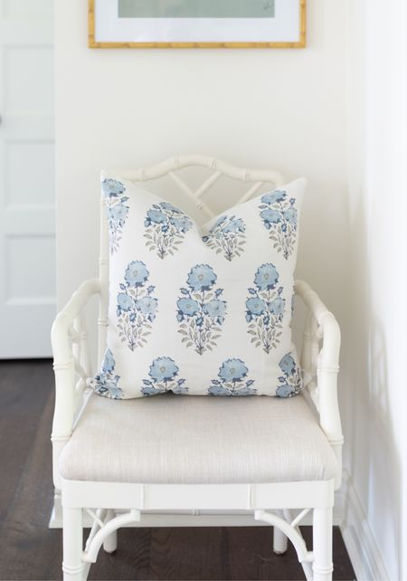 $11 Amazon pillow you need! #pillows #chippendale #chairs   #LTKhome