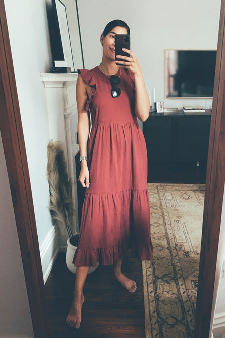 Target dress from a few years ago and they released a similar version! Runs roomy, stay TTS.  #LTKSeasonal #LTKunder50 #LTKstyletip