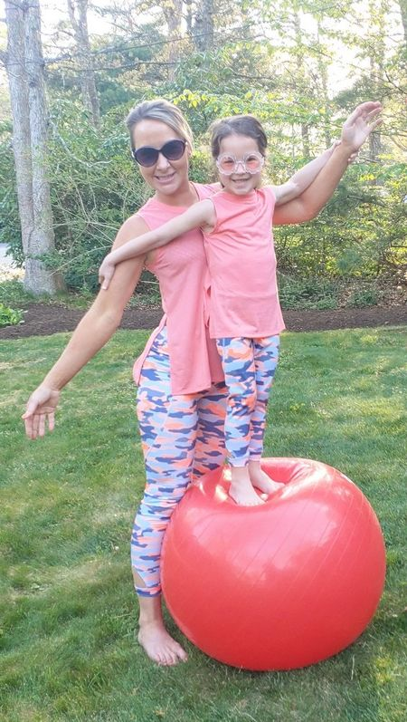 matching mommy and me workout!