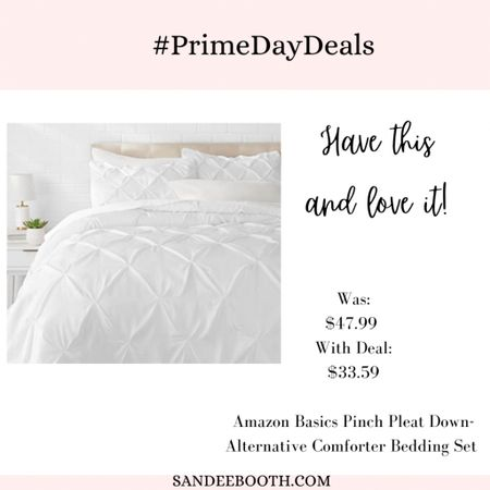 Have this pleated comforter in pink and love it!   #LTKhome #LTKstyletip #LTKsalealert