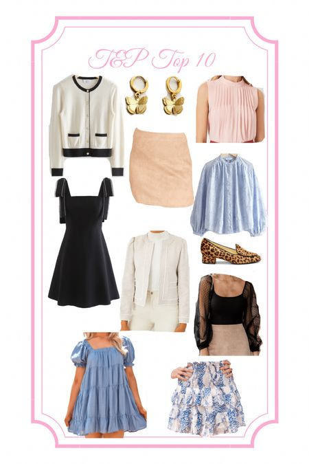 Summer to fall, transition outfit, back to school, work outfit, and other stories, cheetah shoes, leopard shoes, sarah flint, impeccable pig, babydoll dress, chambray dress, denim dress, black dress, lbd, Swiss dot, suede skirt, ruffle top, office outfit, business casual, tweed blazer, ruffle skirt,   #LTKunder100 #LTKfit #LTKworkwear