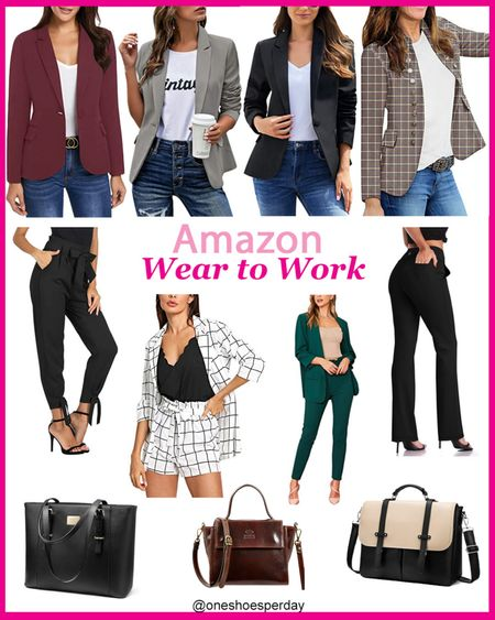 Amazon Fashion  Blazers  Wear to Work  Work Wear  Laptop Bags        http://liketk.it/3pRPv @liketoknow.it #liketkit #LTKGiftGuide #LTKHoliday #LTKSeasonal #LTKsalealert #LTKtravel #LTKunder50 #LTKitbag #LTKworkwear #LTKunder100 Casual Business | Formal Business | Amazon Finds | Amazon Favorites |