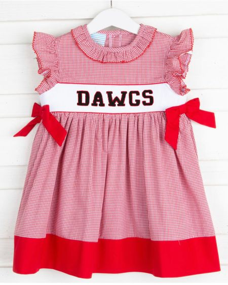 Toddler collegiate outfits - they always sell out come August, so pre-order now to be ready for football season! @liketoknow.it #liketkit http://liketk.it/3gAyg #LTKkids #LTKfamily