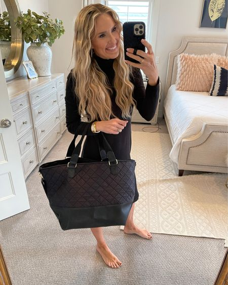 Walmart travel essentials! I LOVE this bag!!! So easy to carry a lot in and zip up! http://liketk.it/38bzw #liketkit @liketoknow.it #LTKunder50 #LTKsalealert #LTKunder100