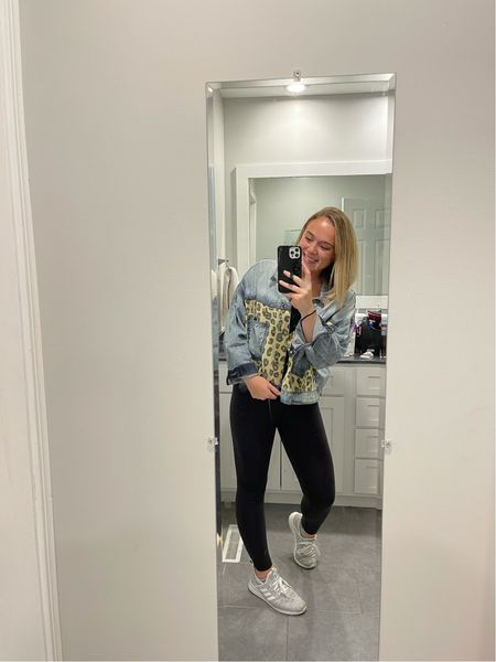 This is such a comfy but cute outfit. It makes a statement but you're also looking cute while wearing it. I love these adidas shoes, so simple but so cute and comfortable.  I wear size 10. The Wunder Under leggings from Lululemon are by far my favorite leggings, I'm wearing a size 8. The jacket is to die for and I am in love with it. I am wearing a size medium! This would be a great travel look all while looking good! My phone case is a loopy case and I am obsessed with it!  #competition @shop.ltk  Also check out my Instagram: Sydni.Martin    #LTKstyletip #LTKtravel #LTKSeasonal