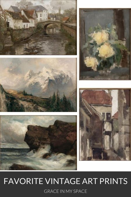 Shop my favorite vintage art prints! http://liketk.it/3jgh1 #liketkit @liketoknow.it
