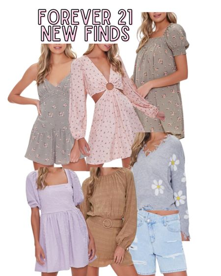 New arrivals at Forever 21
