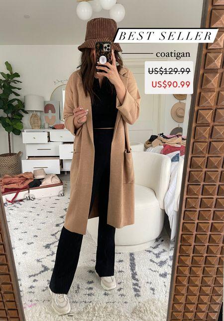 Coat cardigan on sale - medium   #LTKstyletip #LTKsalealert #LTKunder100