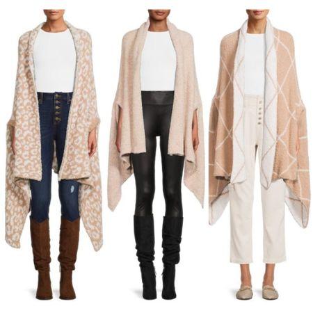 Super soft cozy wraps from Walmart fashion    #LTKunder50 #LTKstyletip #LTKGiftGuide