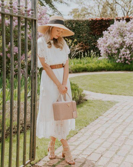 A classic white broderie dress for summer http://liketk.it/3gJap #liketkit @liketoknow.it #LTKunder100 #LTKshoecrush