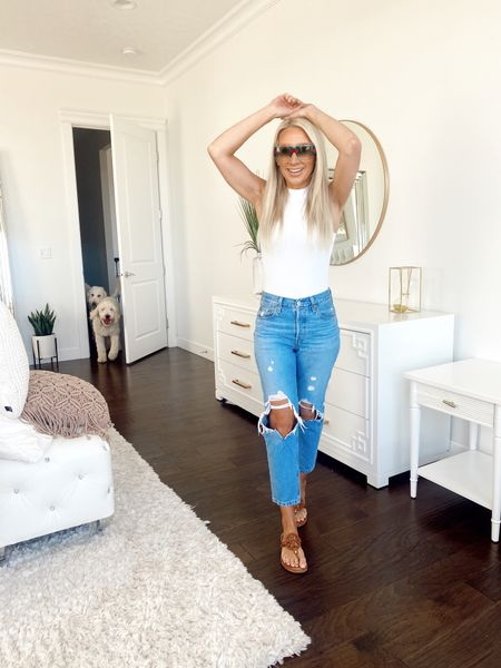 FAVORITE cropped jeans check! http://liketk.it/2OHan #liketkit @liketoknow.it