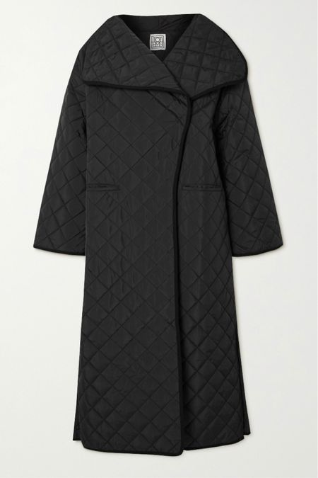 THE Quilted coat! Rosie made me do it !  Linked first one is a US link to the coat and the second two are UK retailers.