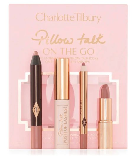 Pillow talk is my favorite lip color and it's by Charlotte tilbury. This set is for lips and eyes and an amazing price. Perfect gift for her this holiday season.  #LTKGiftGuide #LTKbeauty #LTKHoliday