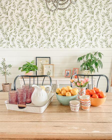 Easy summer table top decor. Dining decor idea from Walmart! http://liketk.it/3hVwT #liketkit @liketoknow.it #LTKfamily #LTKstyletip #LTKunder50