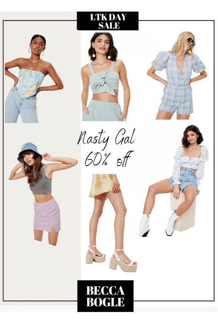Nasty Gal 60% off for LTKDAY   #LTKDay #LTKsalealert #LTKSeasonal