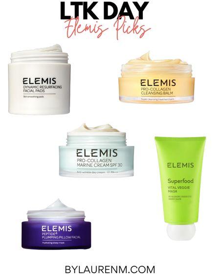 LTK day Elemis top picks. Dynamic resurfacing pads. Pro collagen marine cream SPF. http://liketk.it/3h6cC #liketkit @liketoknow.it #LTKDay #LTKbeauty #LTKunder100 @elemis #facials #skincare #cleansingbalm