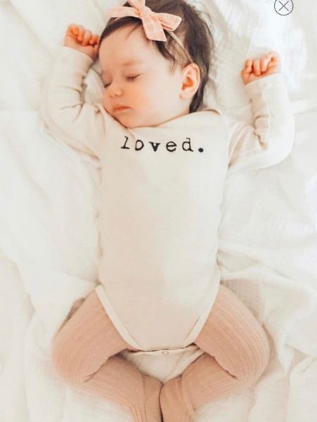 Baby Valentine's Day outfits onesie   http://liketk.it/35BIs #liketkit @liketoknow.it #LTKbaby #LTKkids #LTKbump