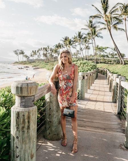 The prettiest floral mini dress for any beach vacay 🌺 @liketoknow.it http://liketk.it/2CF10 #liketkit #LTKtravel #LTKstyletip #LTKunder100