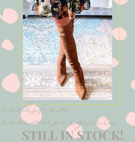 Nordstrom anniversary sale STILL IN STOCK // Steve Madden over the knee boots   #LTKunder100 #LTKsalealert #LTKshoecrush