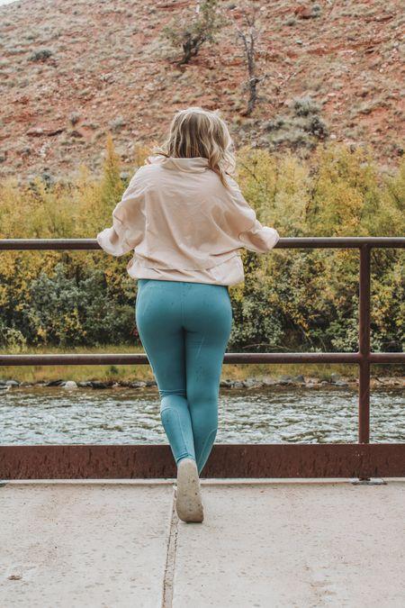 Fall athletic outfits, medium impact sports bra, coordinated athletic wear, 7/8 length leggings.     #LTKunder50 #LTKsalealert #LTKfit