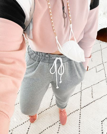 PSA: My very, very favorite sweatpants are UNDER $15 right now - ruuuuuun! I'm wearing an XXL and love the extra legroom, they're so incredibly comfy and pretty dang cute too! http://liketk.it/30Wmp #liketkit @liketoknow.it #LTKfit #LTKcurves #LTKsalealert