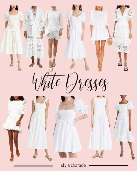 White dresses, white dress http://liketk.it/3jJdN #liketkit @liketoknow.it #LTKwedding #LTKworkwear #LTKstyletip