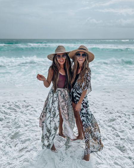 Swimsuit, cover up, beach, hat, sunglasses under $20, one piece, swimwear, Magen Reaves http://liketk.it/3aKPB #liketkit @liketoknow.it