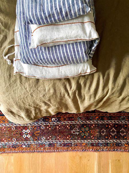 Summer decor for the house - linen sheets for the win.   #LTKstyletip #LTKhome #LTKSeasonal