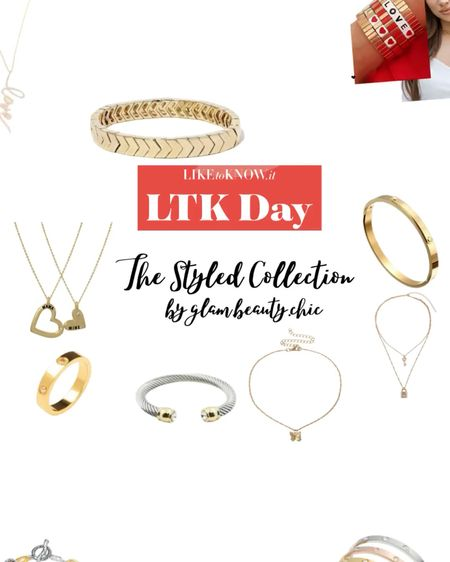 #ltkstyletip #ltkunder25 #ltkunder50 30% off the styled collection LTK day LTK Spring Sale The Styled Collection jewelry, necklace, bracelet, cuff, bangle, ring, pendant necklace, statement necklace, the styled collection mama & mini pendant necklaces   #LTKsalealert #LTKSpringSale #LTKunder100   #LTKDay #LTKsalealert #LTKbeauty http://liketk.it/3hjGk #liketkit @liketoknow.it Shop your screenshot of this pic with the LIKEtoKNOW.it shopping app