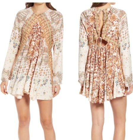 Floral dress, fall dress   #LTKunder100 #LTKstyletip