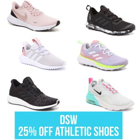 DSW 25% off Athletic Shoes! More styles linked in my LTK! Use code FITSPO and checkout! #sneaker #sale #salealert #nike #justdoit #fitspo #fitness #workout #wfh #workfromhome #gym #adidas #trend #trending #mothersday #giftguide #shoecrush #ltkunder100 #shoelover #ltkspring #StayHomeWithLTK #LTKshoecrush #LTKfit http://liketk.it/2NXNl #liketkit @liketoknow.it