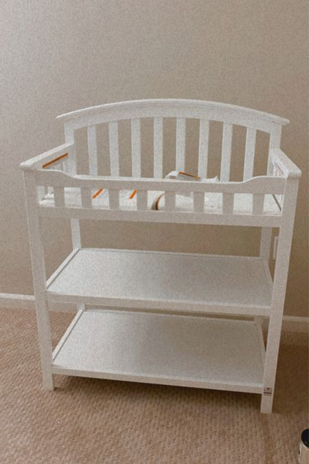 Baby E's changing table came in today. It was easy to assemble and the height is perfect if you're on the shorter side.     #LTKbump #LTKhome #LTKbaby